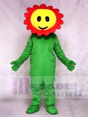 rot Kichern Sonnenblume Maskottchen Kostüme Pflanze