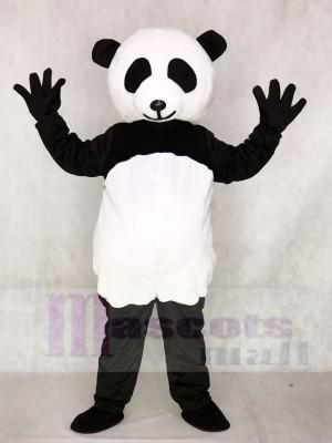 Das riesige Panda Maskottchen kostümiert Tier