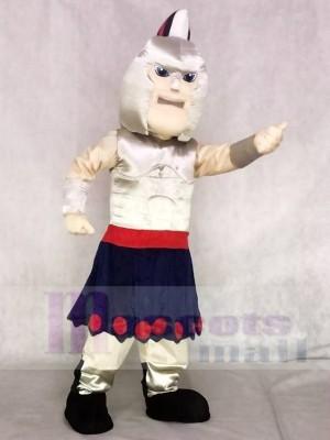 Silber Spartan Titan Trojan Maskottchen Kostüme Menschen