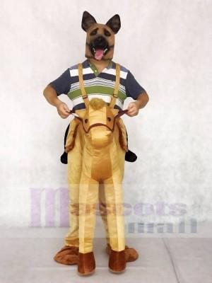 Piggyback Pony Carry Me Ride auf Pferd Maskottchen Kostüme Tier