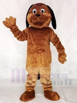 Schwarz Ohr Braun Hund Maskottchen Kostüme Tier