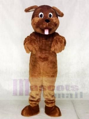 Schön Braun Hund Maskottchen Kostüme Tier