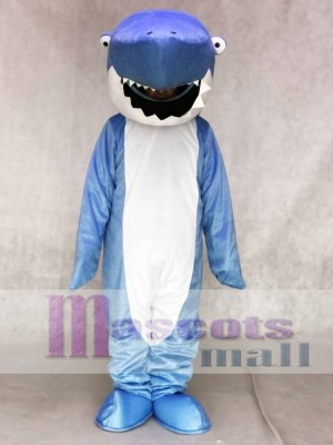 Blau Hai Maskottchen Adult Kostüme Ozean