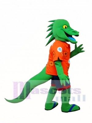 Green Lizard Mascot Costume Iguana Mascot Costumes Animal