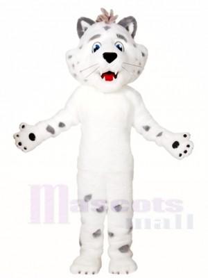 Weißer Leopard Maskottchen Kostüme Tier
