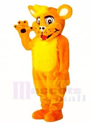 Orange Löwe Cub Maskottchen Kostüme Tier
