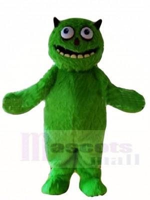 Grün Behaarte Außerirdischer Ungeheuer Maskottchen Kostüme