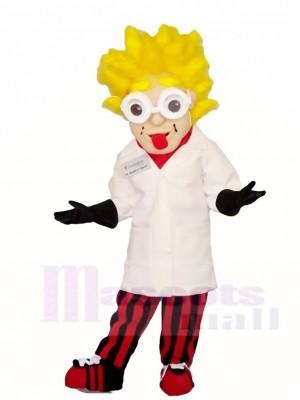 Einstein Wissenschaftler Maskottchen Kostüme Menschen