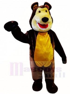 Mascha und der Braun Bär Maskottchen Kostüme Tier