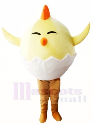 Küken im Ei Maskottchen Kostüme Geflügel