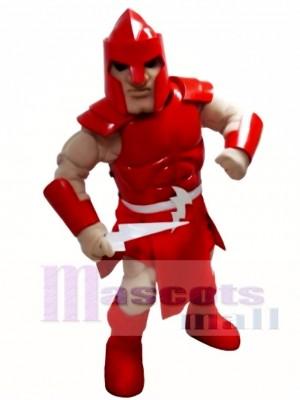 rot Titan Spartaner Trojaner Ritter Krieger Maskottchen Kostüm Menschen