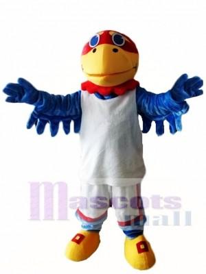 Kansas Ku Jayhawks Falken Vogel Maskottchen Kostüm