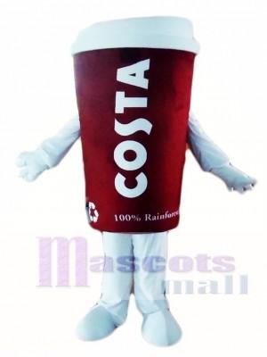 Costa Kaffee Becherglas Becher Maskottchen Kostüme