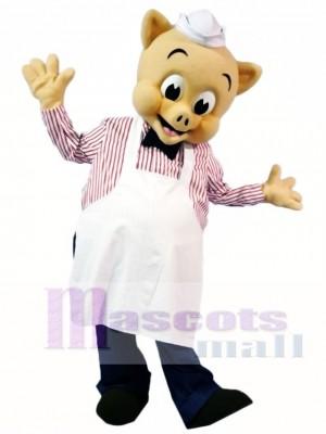 Koch Schwein Piggly Maskottchen Kostüme Tier