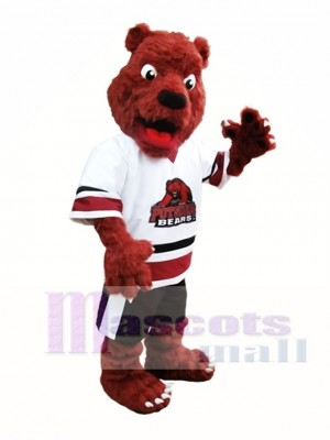 Rost rot Bär Maskottchen Kostüm Potsdam Bären Maskottchen Kostüme
