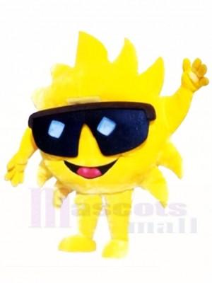 Herr Sunshine mit Sonnenbrillen Maskottchen Kostümen