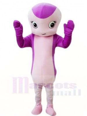 Lila Schlange Maskottchen Kostüme Tier