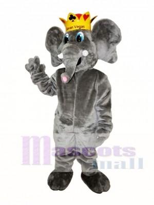 Graue Elefant Maskottchen Kostüm Graue Elefant Maskottchen Kostüme