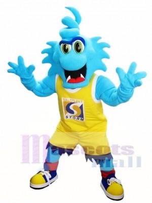 Blaue Sturm Maskottchen Kostüme