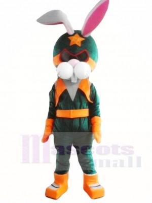 Kaninchen Astronauten Space Maskottchen Kostüme Tier