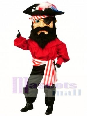 Pirat Maskottchen Kostüm Menschen