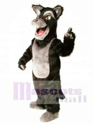 Nettes großes schlechtes Wolf Maskottchen Kostüm