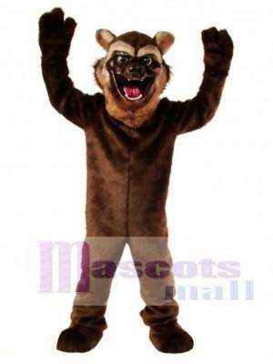Nettes Wolverine Wolf Maskottchen Kostüm