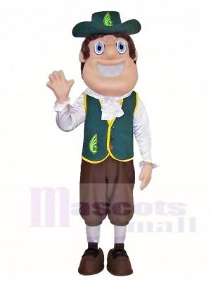 Quakerman Quakers Maskottchen Kostüme Menschen