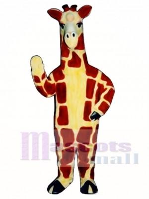 Realistisch Giraffe Maskottchen Kostüm