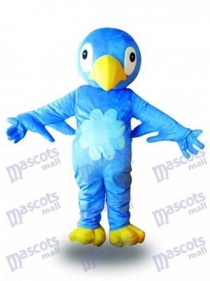 Blaues Vogel maskottchen Kostüm Tier