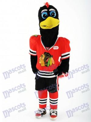 Chicago Blackhawks Tommy Hawk Maskottchen Kostüm