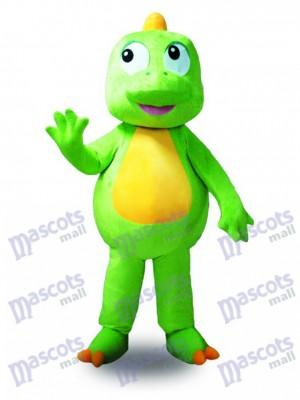 Grünes Drachen Maskottchen Kostüm Tier