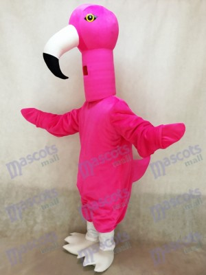 Nettes Flamingo Vogel Maskottchen Kostüm