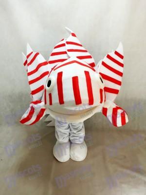 Lionfish Maskottchen Kostüm für Aquarium