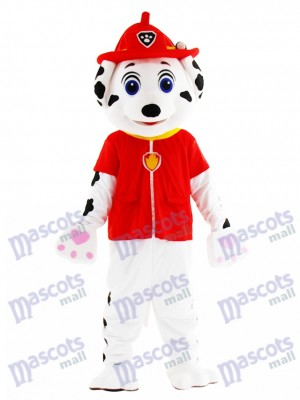 Marshall Paw Patrol Hund Maskottchen Kostüm Cartoon Anime