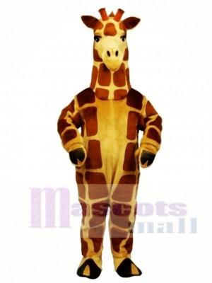 Nette realistische Giraffe Maskottchen Kostüm