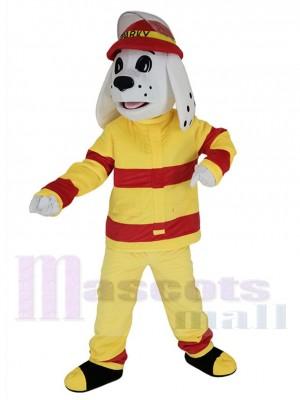 Sparky Feuerhund maskottchen kostüm