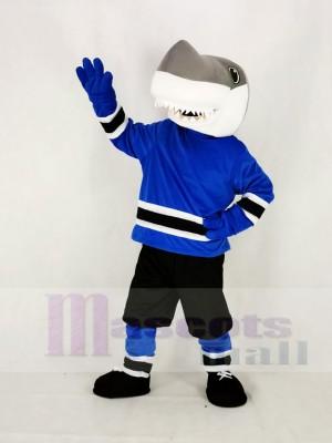 Schule Haie mit Schwarz Jogginghose Maskottchen Kostüm Hochschule