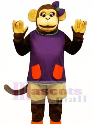 Wackie Jackie mit Shorts & Shirt Maskottchen Kostüm