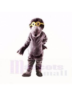 Grau Brille Maulwurf Maskottchen Kostüme Hochschule