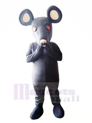 Lustig Grau Ratte Maskottchen Kostüme Karikatur