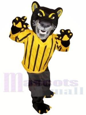 Heftig Schwarz Panther Maskottchen Kostüme Tier