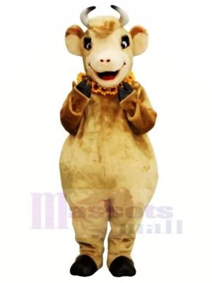 Weiblich Braun Kuh Maskottchen Kostüme