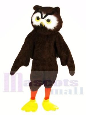 Süß Braun Eule Maskottchen Kostüme