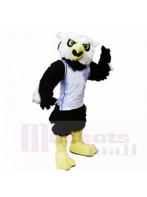 Sport College Owl mit weißem Hemd Maskottchen Kostüme Schule
