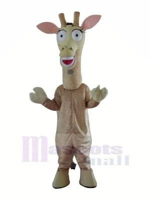 Süß Giraffe Maskottchen Kostüme Karikatur