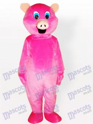 Rosa Schwein Tier Maskottchen Kostüm für Erwachsene