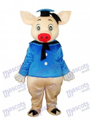 Dr.Pig Maskottchen Erwachsene Kostüm Tier