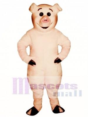 Niedlich Ferkel Schwein Maskottchen Kostümv