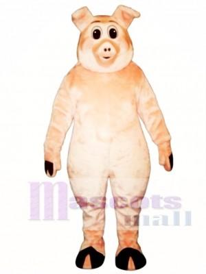 Nettes Schweineschwein Ferkel Schwein Maskottchen Kostüm